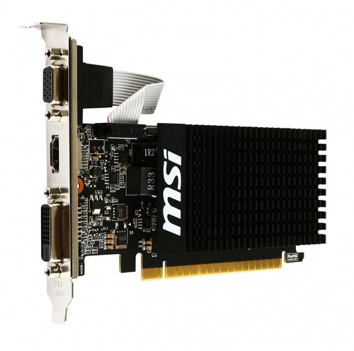 tarjeta de video msi gt710 1gb ddr3 64-bits nvidia geforce