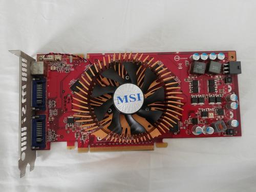 tarjeta de video msi n9800gt t2d1g ocv2 grafica 1gb gddr3