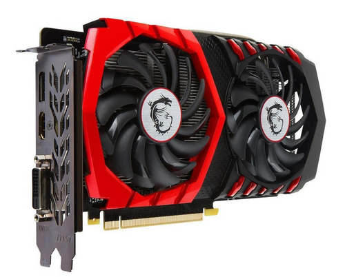 tarjeta de  video msi nvidia gtx 1050ti gaming 4gb 128bits