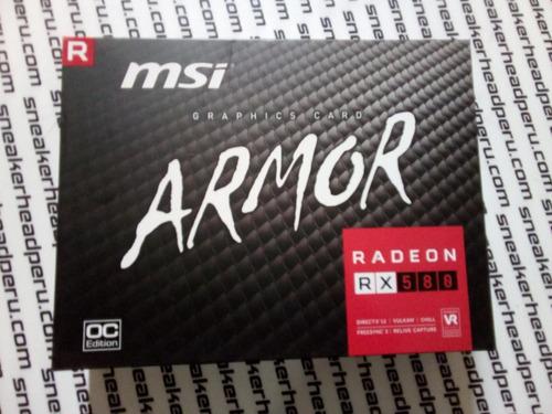 tarjeta de video msi radeon rx 580 4gb superior a gtx 1060 6