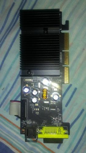 tarjeta de video nv0idia geforce 6200, 256 mb ddr2