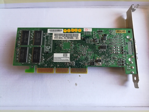 tarjeta de video nvidia geforce 4 mx 420
