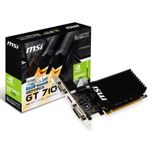 tarjeta de video nvidia geforce gt710 1gb ddr3 100%original