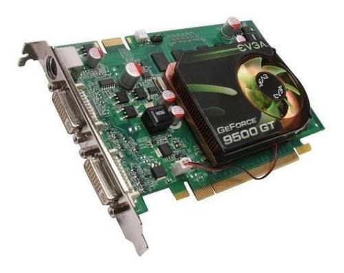 tarjeta de video nvidia gf 9500gt  mb sin oxidos