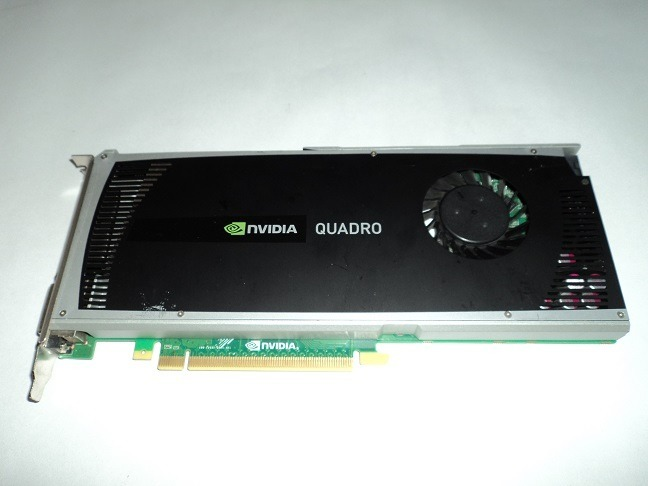 Tarjeta De Video Nvidia Quadro 4000 2gb Ddr5  Inc Conector - $ 315 000