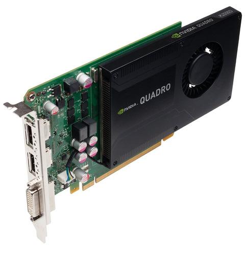 tarjeta de video nvidia quadro k2000
