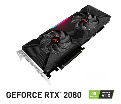 tarjeta de video pny geforce rtx 2080 8gb xlr8 gaming oc ed