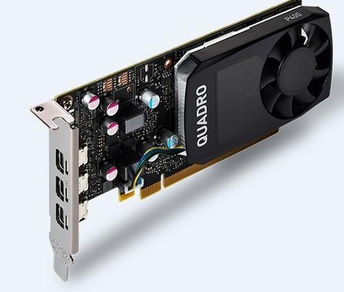 tarjeta de video pny vcqp400-esppb quadro nvidia p400 2gb gd