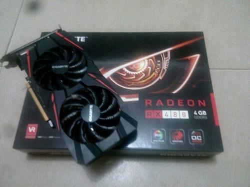 tarjeta de video rx 480 4gb gddr5 gigabyte oferta