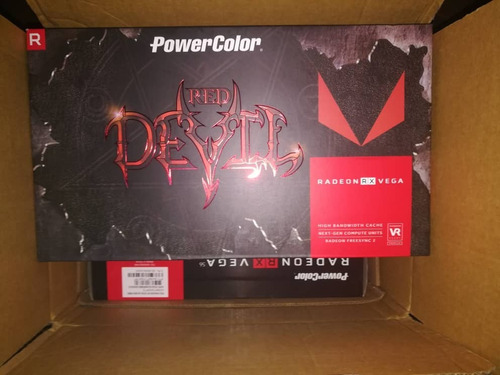 tarjeta de video rx vega 56 powercolor red devil 8gb hbm2