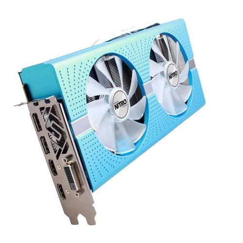 tarjeta de video sapphire nitro+ edicion especial rx 580 8gb