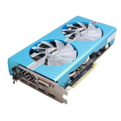 tarjeta de video sapphire nitro radeon rx 580 8gb rx580 bagc