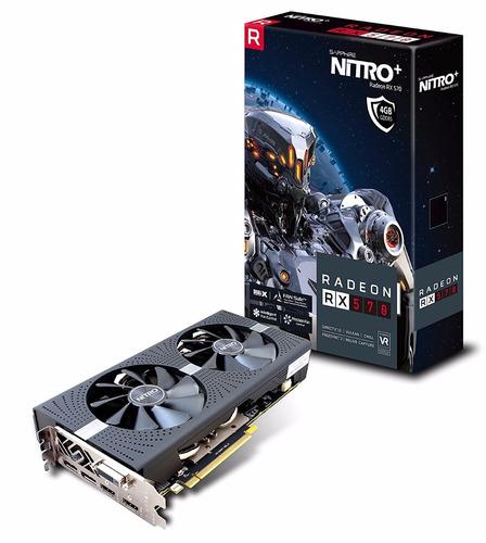 tarjeta de video sapphire radeon nitro+ rx 570 4gb gamim eth