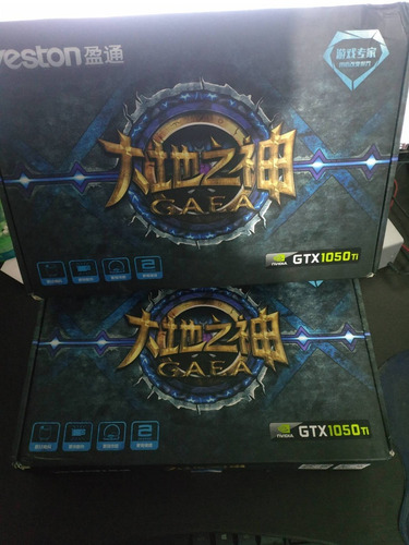 tarjeta de video yeston gtx 1050 ti ddr5 4gb 128 bit