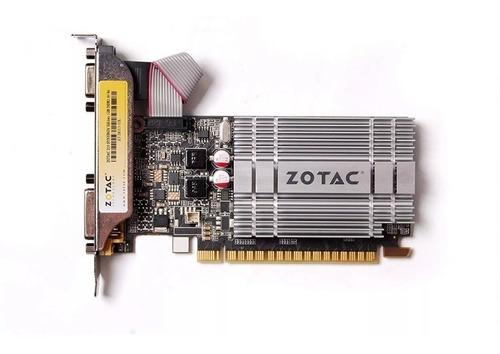 tarjeta de video zotac g210 1gb ddr3 pci-e 2.0