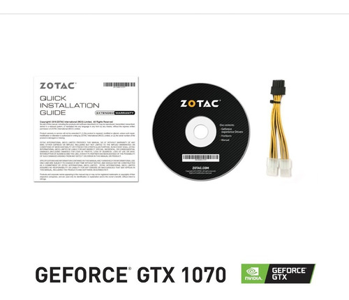 tarjeta de video zotac geforce gtx 1070 mini 8gb