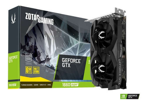 tarjeta de video zotac geforce gtx 1660 super twin fan