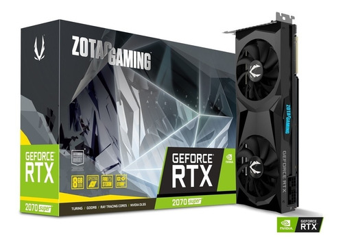 tarjeta de video zotac nvidia geforce rtx 2070 super 8gb