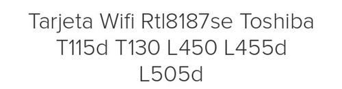 tarjeta de wifi