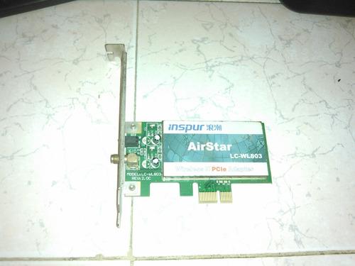 tarjeta de wifi inspur airstar para pc