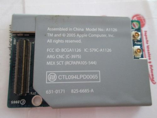 tarjeta de wifi para ibook g4 a1134
