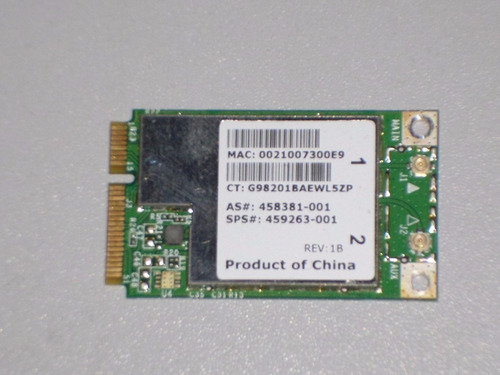 tarjeta de wifi para todo tipo de laptop