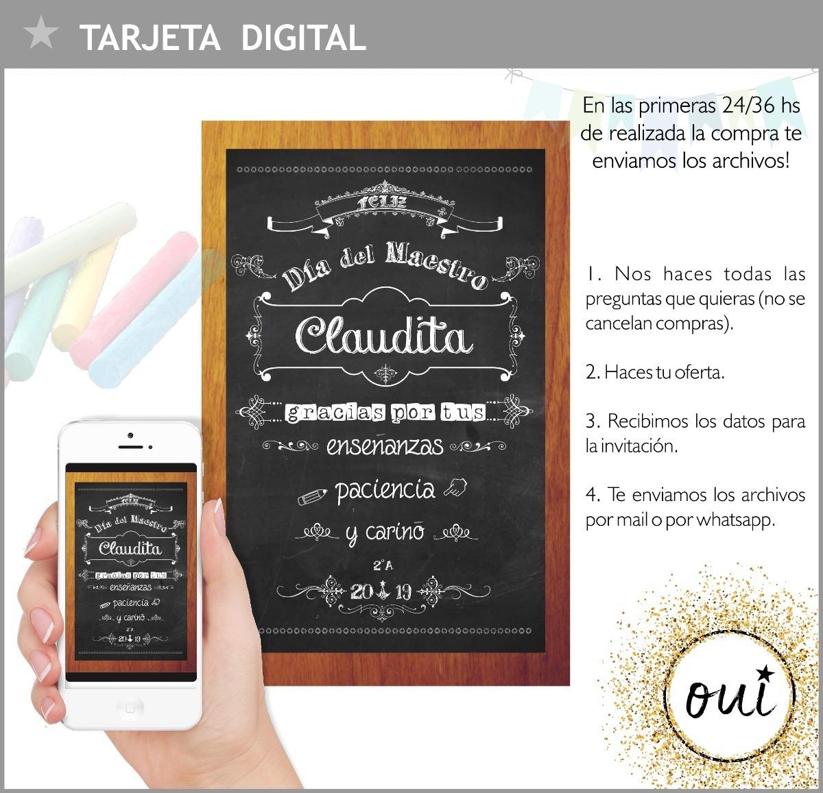 Tarjeta Digital Día Del Maestro