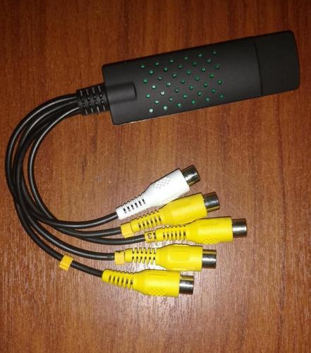 tarjeta dvr usb captura video s-video audio - dvd 4 canales