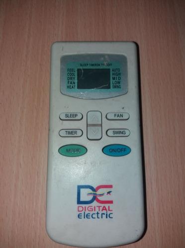 tarjeta electrónica aire split digital electric 24000 btu