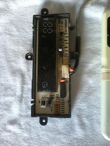 tarjeta electronica de aire acondicionado con su control