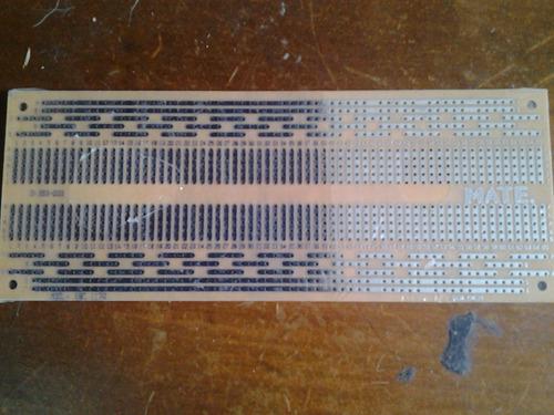 tarjeta electronica stripboard creativa 1170 puntos