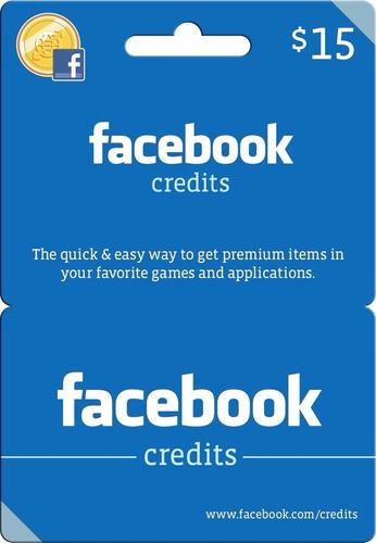 tarjeta facebook créditos 15usd - juegos pc - contract wars