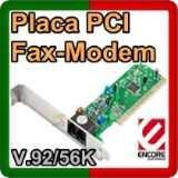 tarjeta fax modem pci 56 kbps enf656-esw-mopr