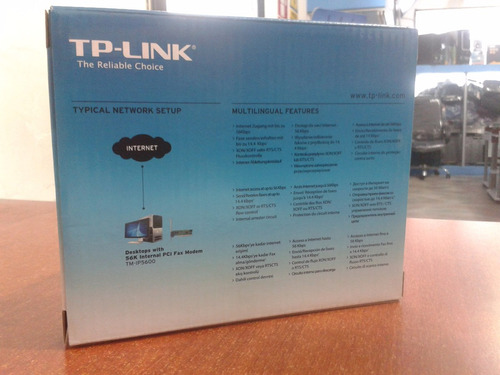 tarjeta fax moden ip-5600 tp-link