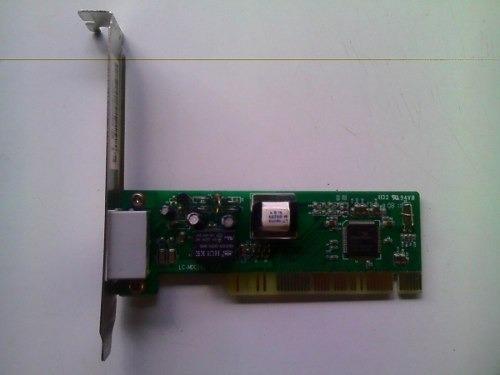 tarjeta fax moden pci modelo lc-mdc101 nueva