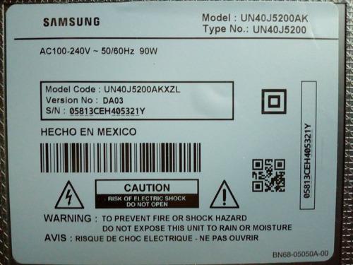 tarjeta fuente de poder de tv samsung un40j5200ak