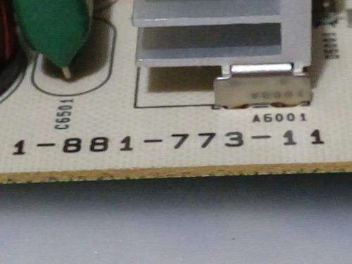tarjeta fuente sony kdl-60ex701 1-991-773-11