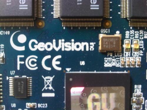 tarjeta geovision gv-1480 480 fps 16 cámaras 16 audio