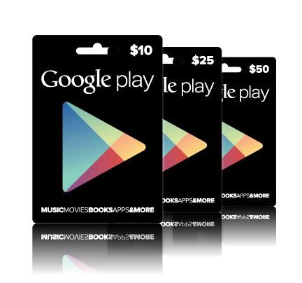 tarjeta gift card google play usd juegos apps android