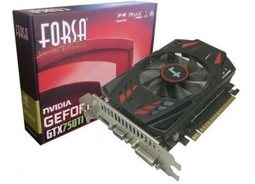 tarjeta grafica geforce gtx750ti 4gb ddr5 forsa diginet