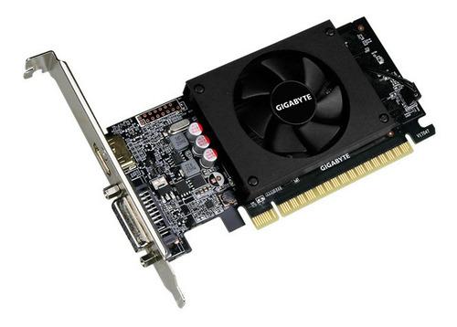 tarjeta grafica gigabyte gt 710 2gb ddr5 pci express 16x
