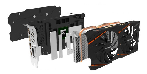 tarjeta gráfica gigabyte rx 580 8gb ddr5 gaming envío rápido