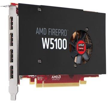 tarjeta gráfica profecional amd firepro w5100 usada