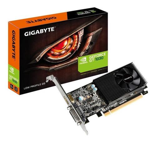 tarjeta grafica video gigabyte gt 1030 2gb ddr5 low profile