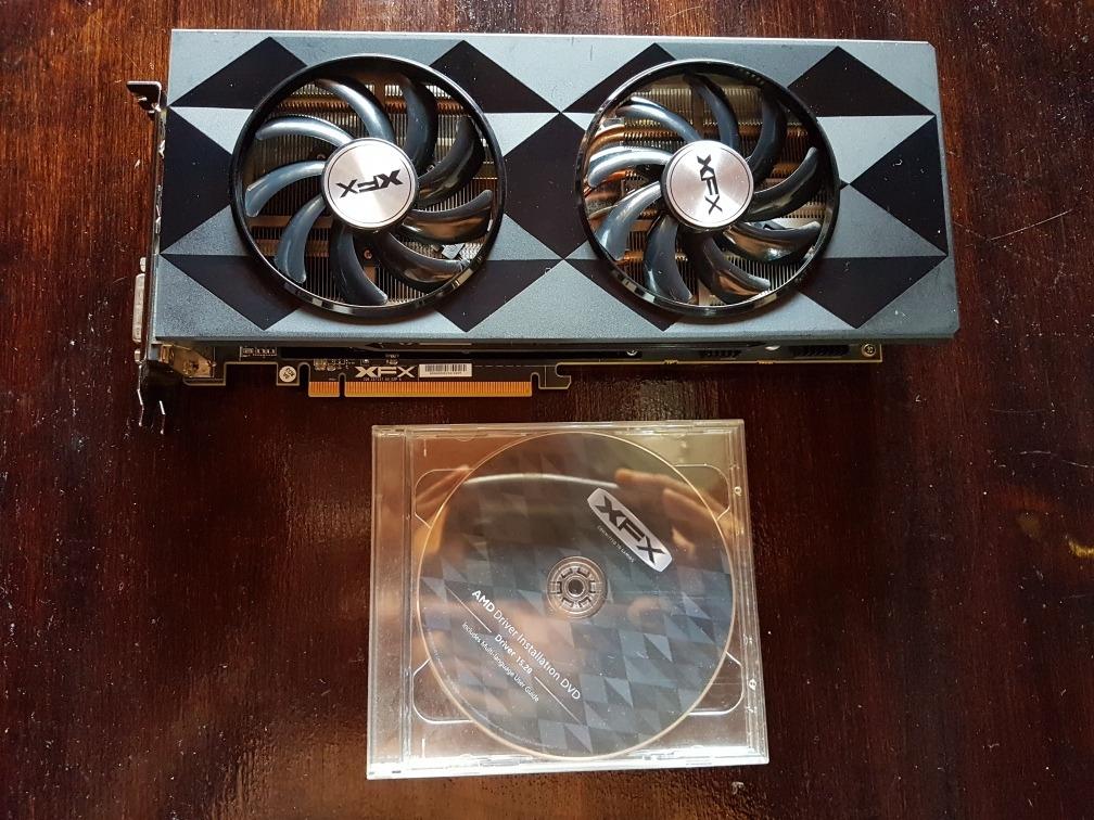 Tarjeta Grafica Xfx Amd Radeon R9 390 De 8gb Ddr5 Black Edit - $ 740 000