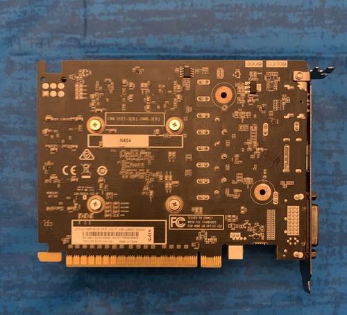 tarjeta gráfica zotac nvidia geforce gtx 1050 ti mini 4gb