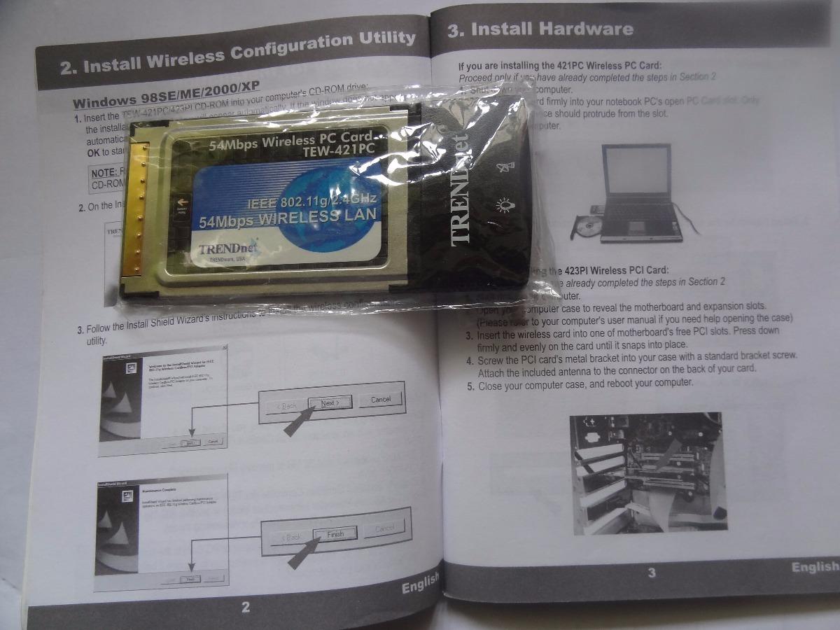 TRENDnet TEW-421PC A WLAN Treiber Windows XP