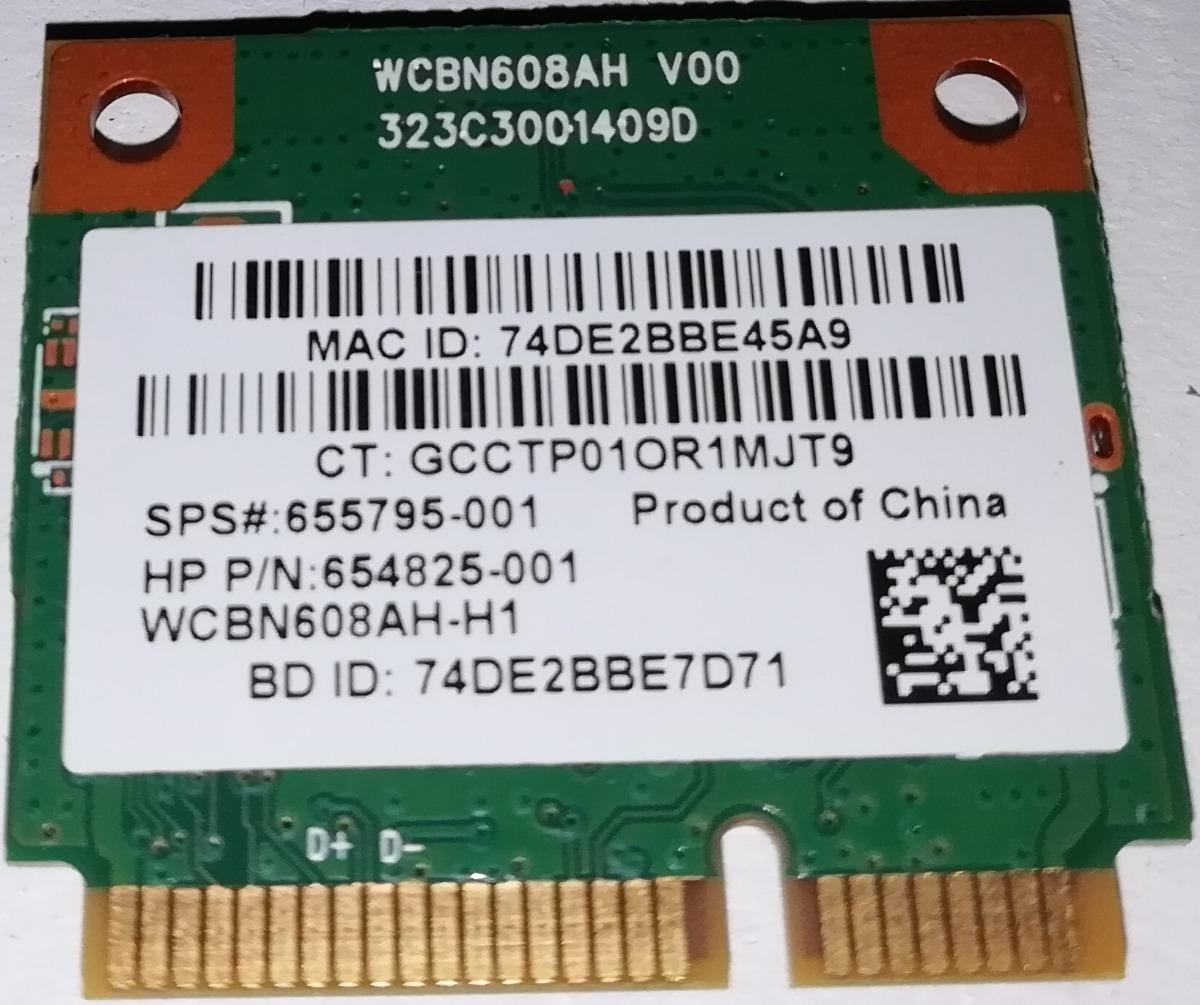 654825-001 HP laptop wifi card SPS# 655795-001 HP P//N