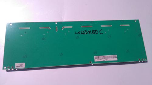 tarjeta inverter samsung i260b1-12d  ln26s81bd  c