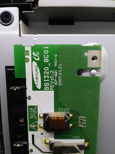 tarjeta inverter ssl320_bc01 sony kdl-32ll150